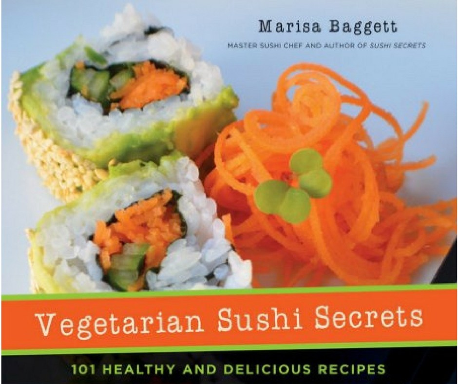 Book Review: Vegetarian Sushi Secrets by Marisa Baggett
