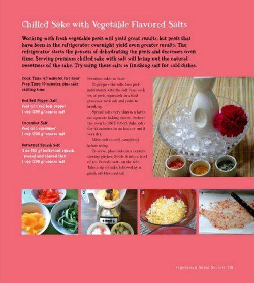 vegetarian sake pic